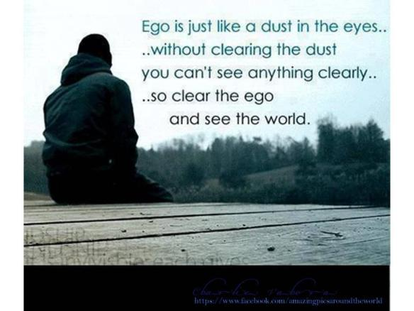 clear the ego