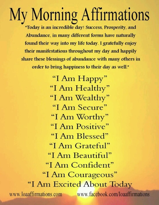 Positive daily affirmations for relationships quotes