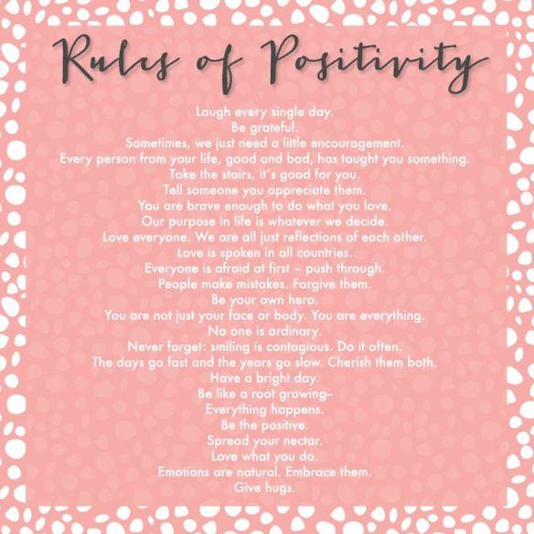 rule of positivity
